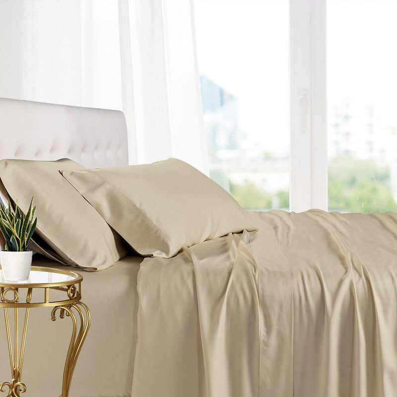 Split King Adjustable Bed Sheets - 100% Bamboo Viscose-Royal Tradition-Linen-Egyptian Linens