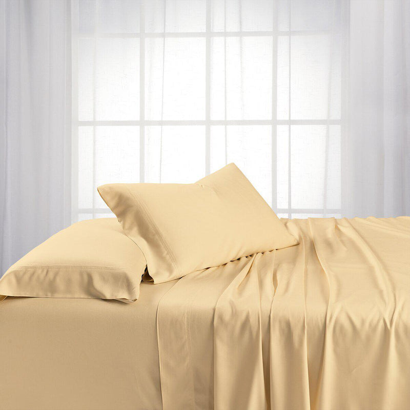 Adjustable Split King Sheets - Cooling Bamboo Viscose 600 Thread Count-Abripedic-Canvas-Egyptian Linens