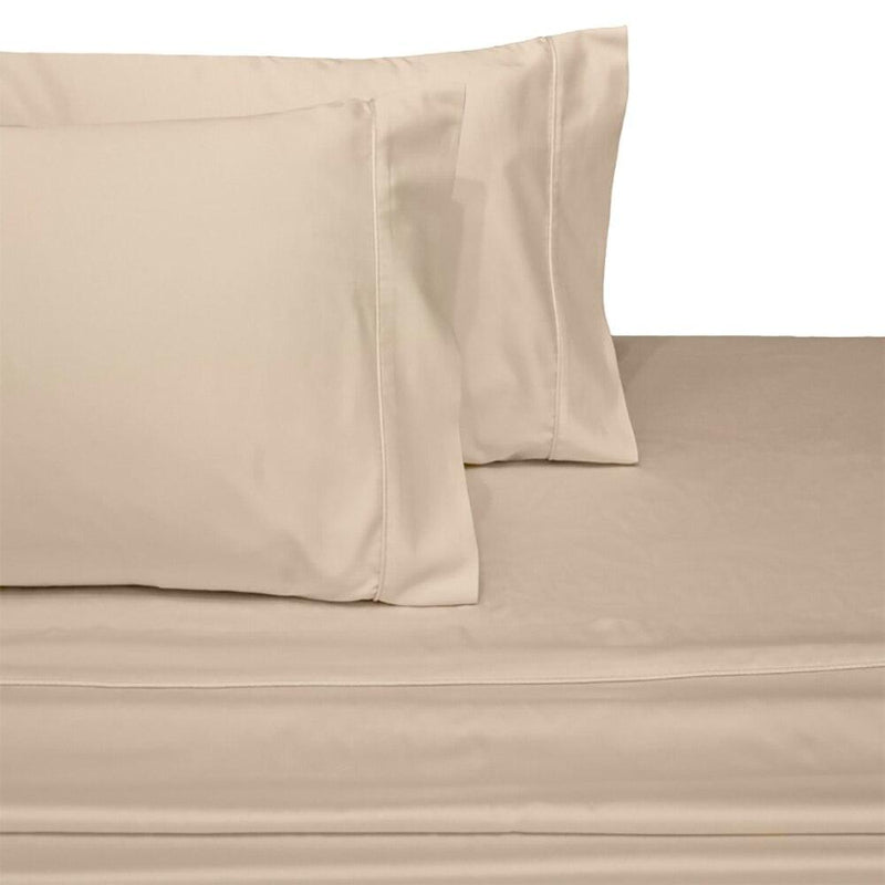 Split Top King Sheets 300 Thread Count 100% Cotton (Half Split Fitted)-Royal Tradition-Linen-Egyptian Linens