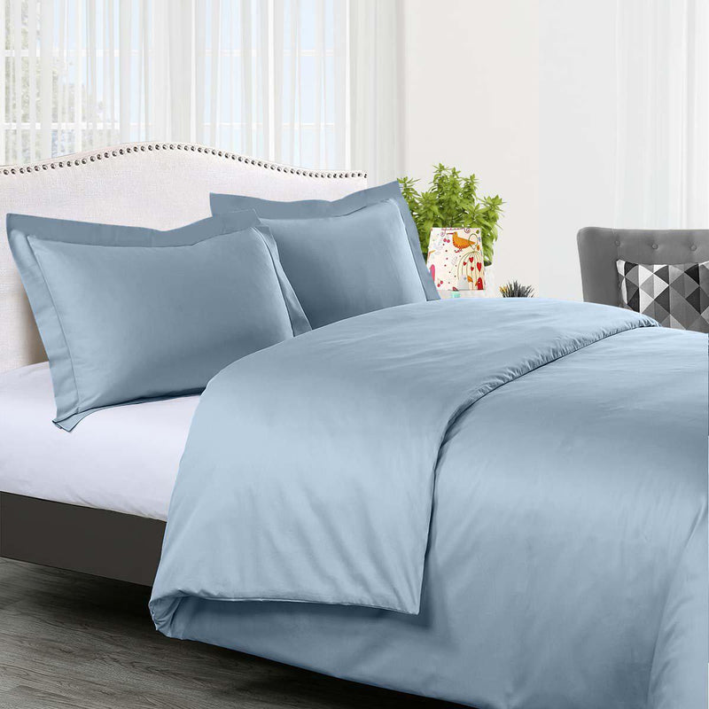 Duvet Cover Set Solid 300 Thread count