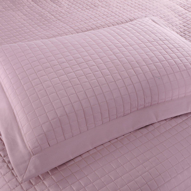 Luxury Checkered Quilted Wrinkle-Free 2-3 Piece Quilted Coverlet Set-Royal Tradition-Egyptian Linens