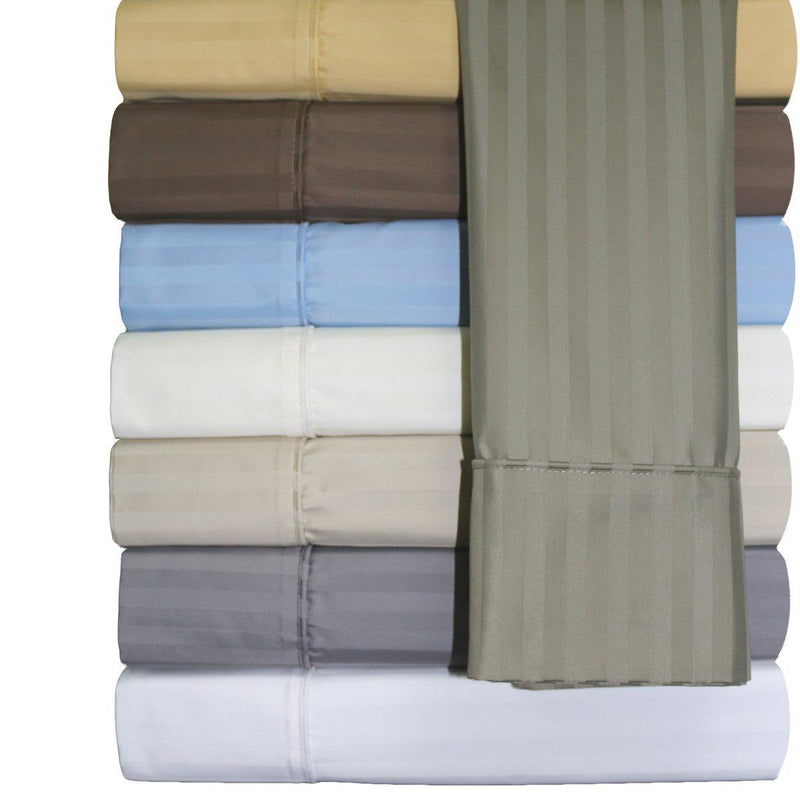 Easy Care Sheet Set - Striped 650 Thread Count-Royal Tradition-Egyptian Linens