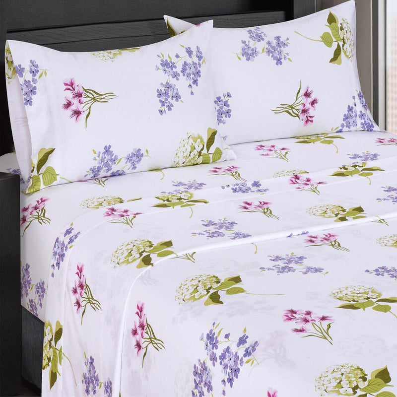 Printed Sheet Set - 300 Thread Count-Royal Tradition-Twin XL-Blossom-Egyptian Linens