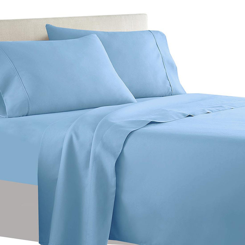 Olympic Queen Sheet Set - Solid 600 Thread Count