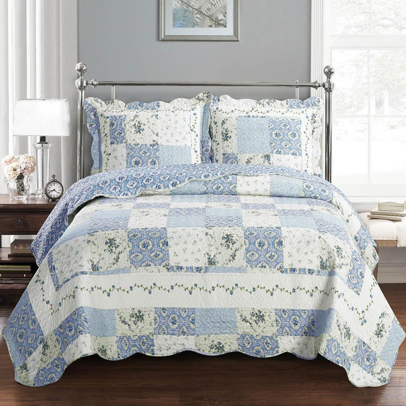 Brea Oversize Quilt Set-Royal Tradition-Twin/Twin XL-Egyptian Linens