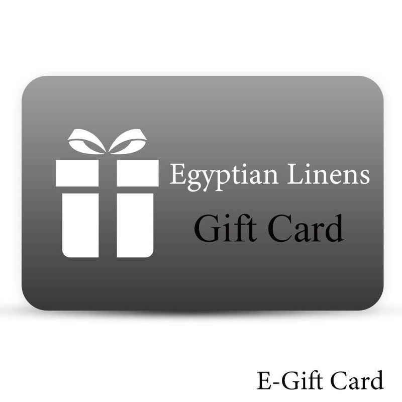 Egyptian Linens E-Gift Card