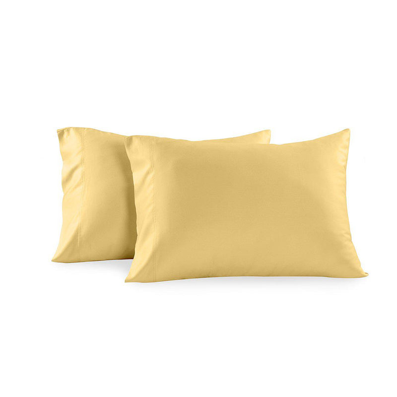 Solid 300 Thread Count Pillowcases (Pair)