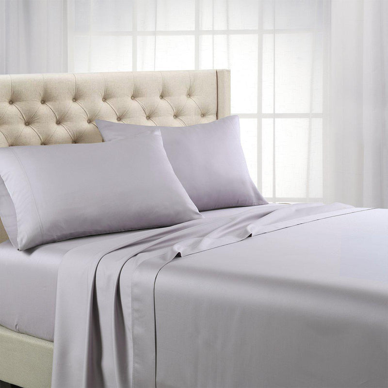 Luxurious Cooling Sheet Set - Eucalyptus 600 Tencel Lyocell-Abripedic-Twin XL-Iris-Egyptian Linens