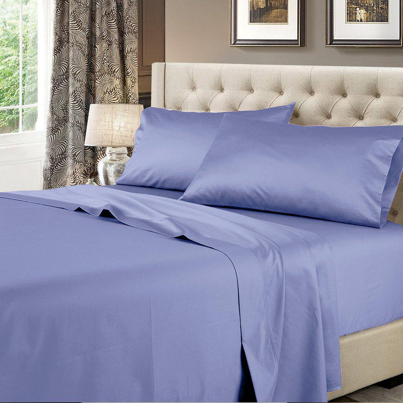 Split Top Flex-Top King Sheet Set - Solid 600 Thread Count