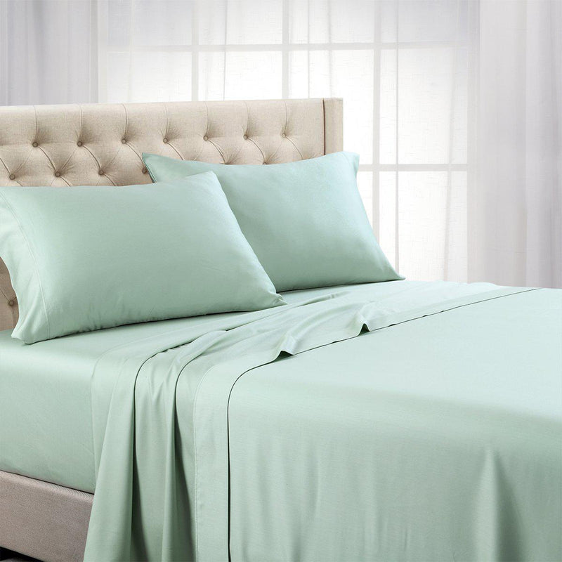 Luxurious Cooling Sheet Set - Eucalyptus 600 Tencel Lyocell-Abripedic-Twin XL-Sea-Egyptian Linens