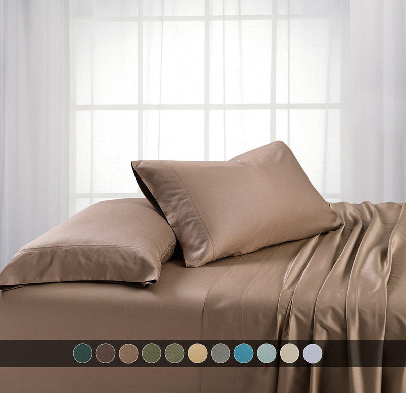 Split California King - Cooling Bamboo 600 Sheet Set-Abripedic-Egyptian Linens