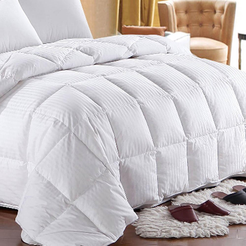 600 Fill Power Lightweight Goose Down Comforter-Royal Hotel Bedding-Egyptian Linens