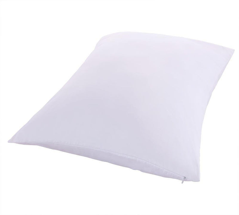 Premium Down Proof Pillow Protector 100% Cotton 400 Thread Count (Pair)-Egyptian Linens-Queen/Standard Pair-Egyptian Linens