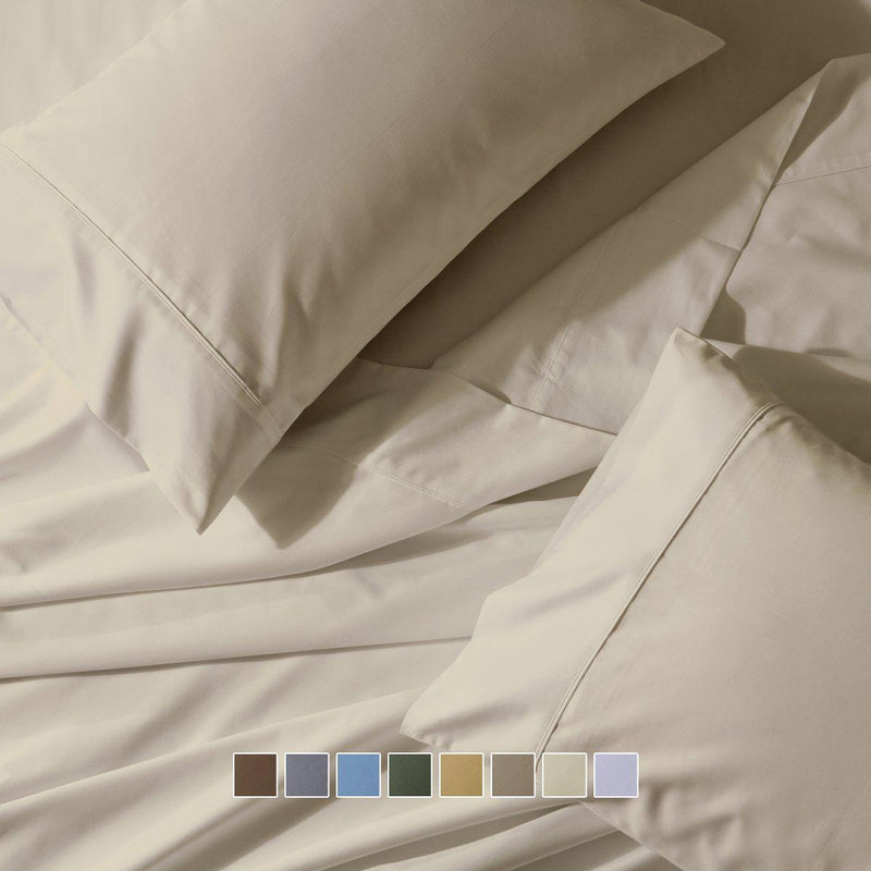 Flex Top California King Sheet Set - Easy Care 650 Thread Count-Royal Tradition-Egyptian Linens