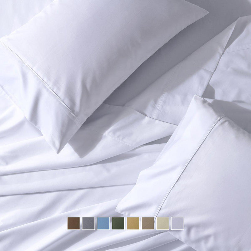 Flex Top King Sheet Set - Easy Care 650 Thread Count-Royal Tradition-Egyptian Linens
