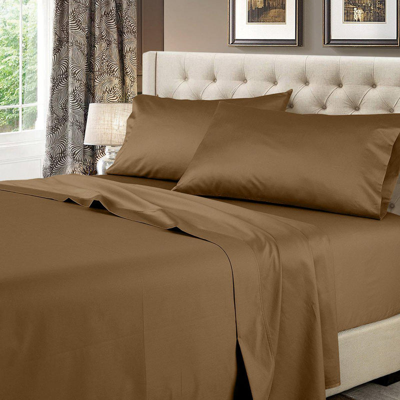 Solid 600 Thread Count Sheet Set