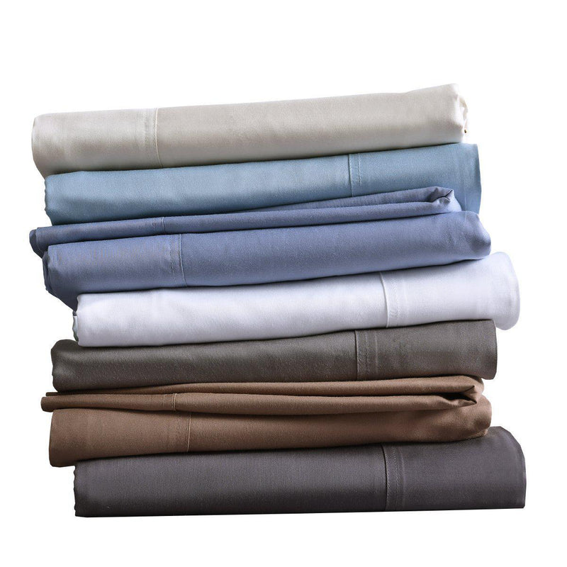 Silky Cotton, Bamboo-Cotton Blended 2 Pillowcases (Hybrid)-Royal Tradition-Egyptian Linens