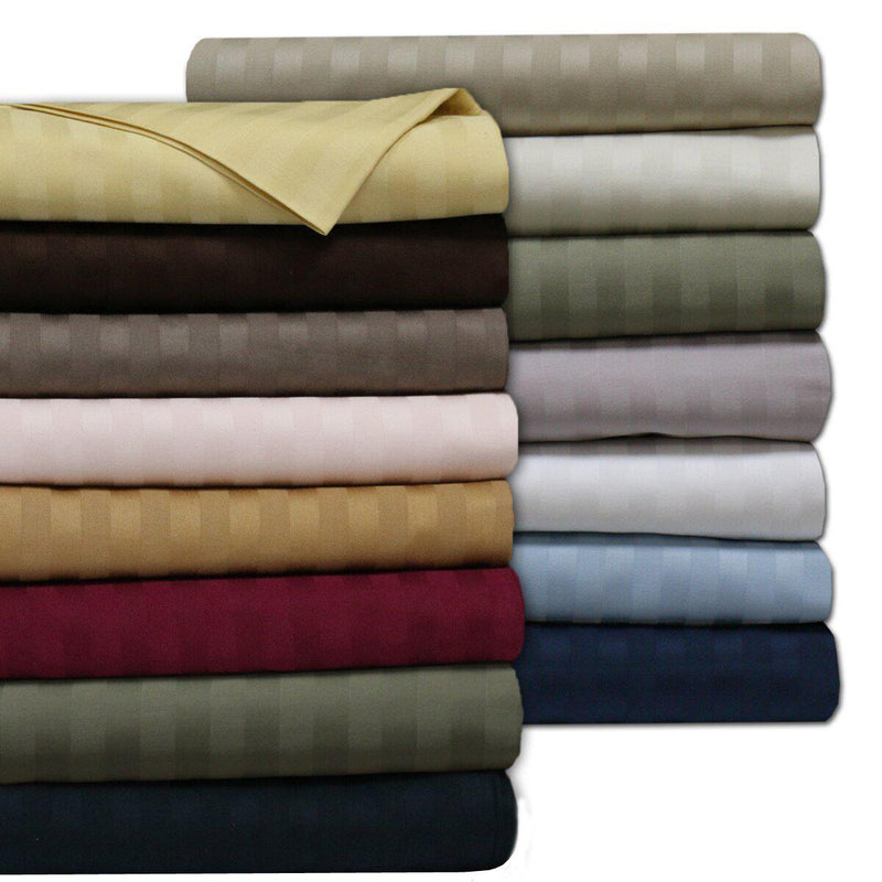 Sheet Set - Striped 600 Thread Count-Royal Tradition-Egyptian Linens