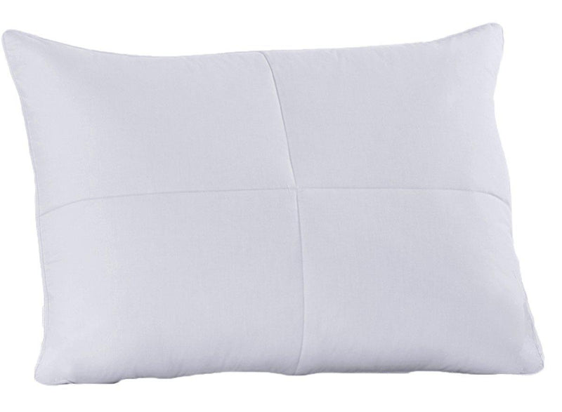 Medium Firm Support - Goose Feather Down Pillow-Pillows-Egyptian Linens-Egyptian Linens