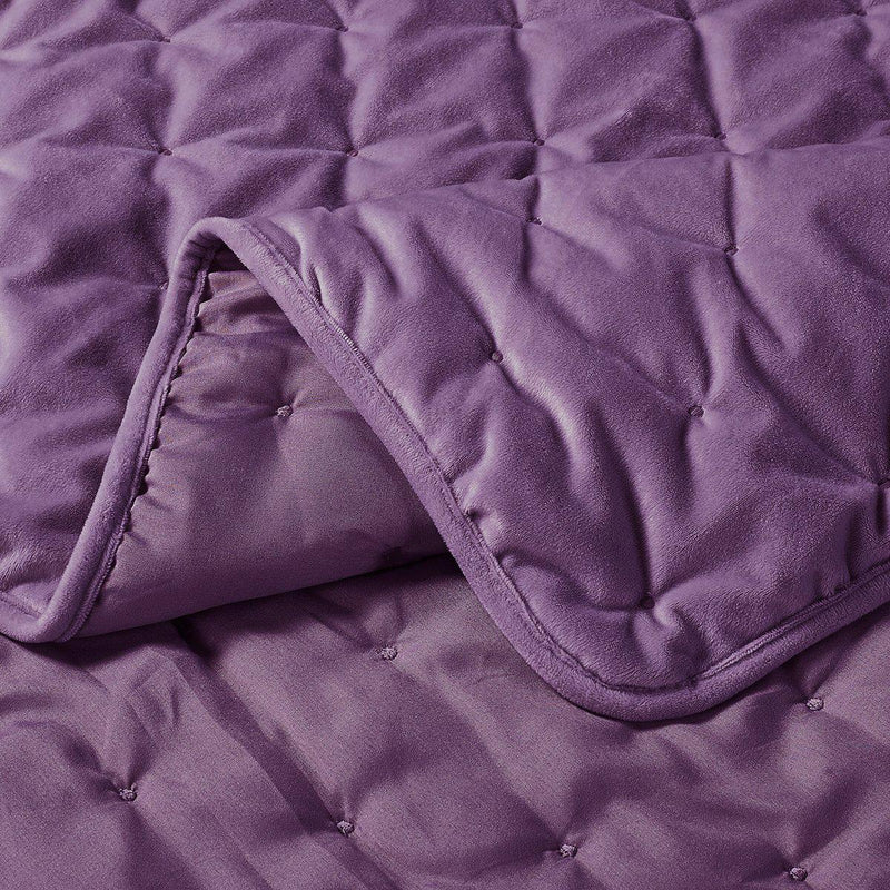 Fluffy Velvet Coverlet Set-Wholesale Beddings