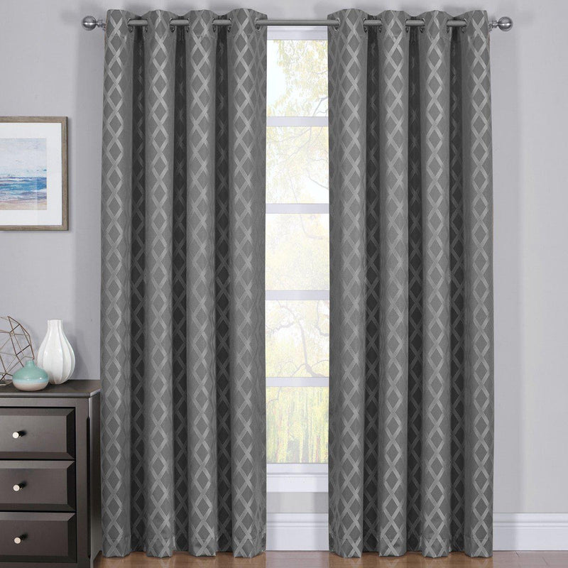 Gray Rosaline Curtain image