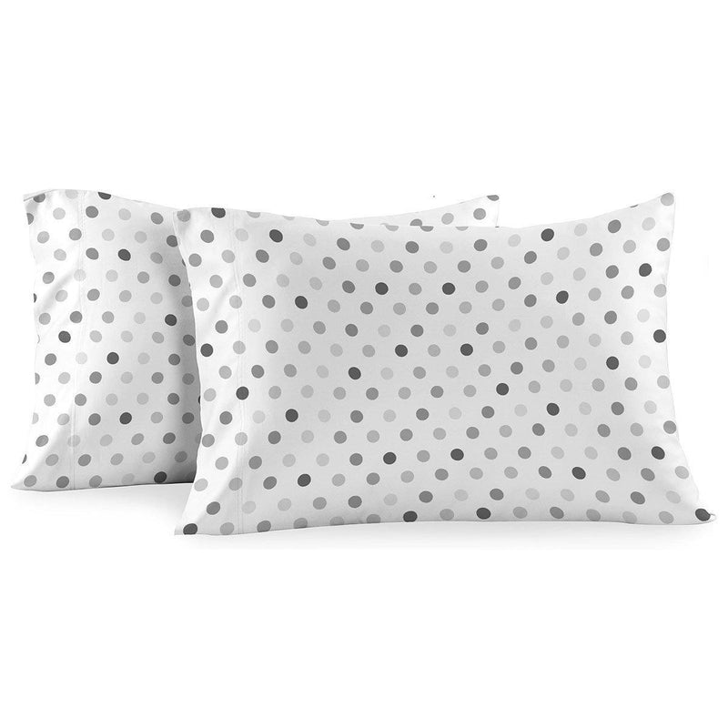 Heavyweight Printed Flannel Pillowcase Sets (Pair) - Modern-Egyptian Linens