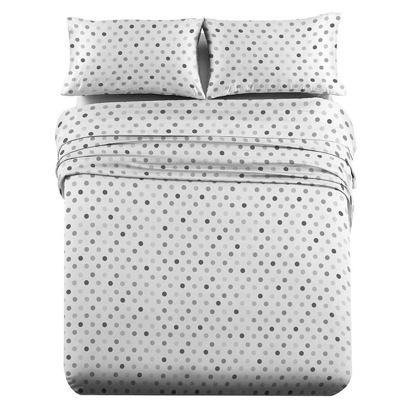 Heavyweight Printed Flannel Sheets 170GSM - Modern-Egyptian Linens
