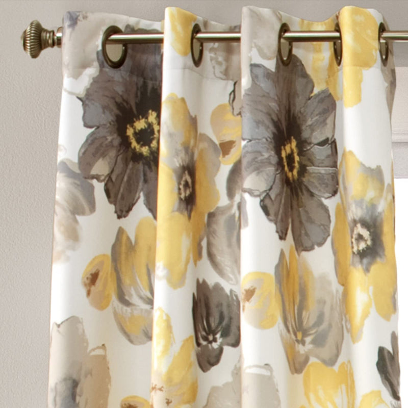 "Leah Room Darkening Curtain Panel Pair - 52"" W X 108"" L Each Panel-Royal Tradition-Egyptian Linens"