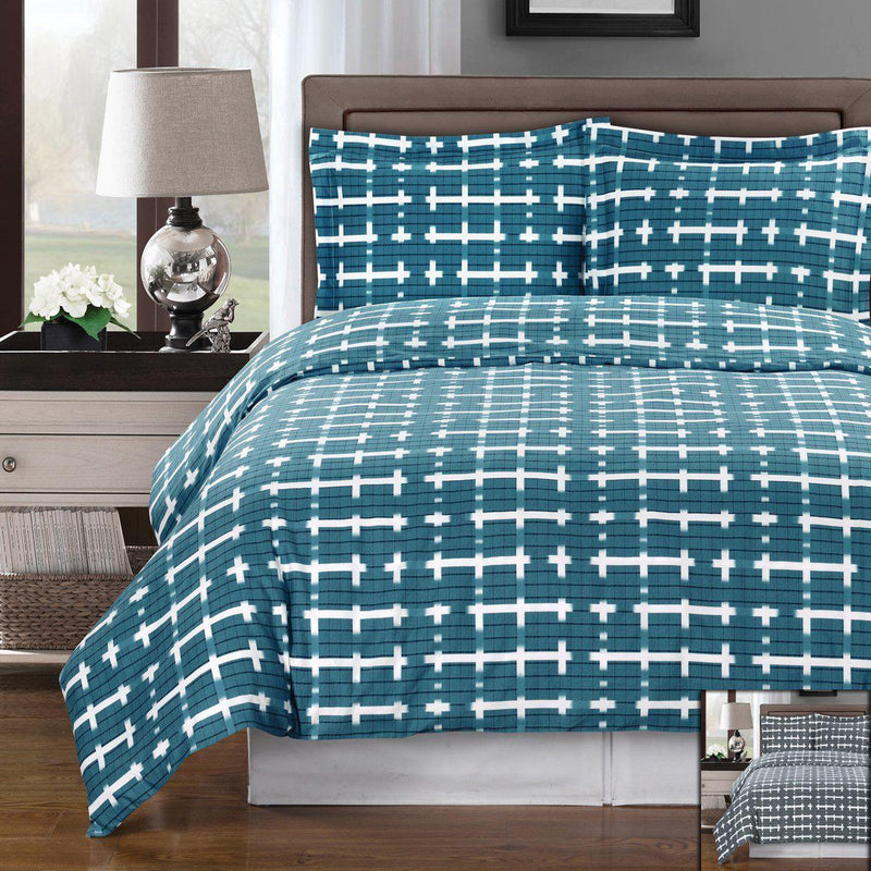 Duvet Cover Set - Norwich-Royal Tradition-Egyptian Linens