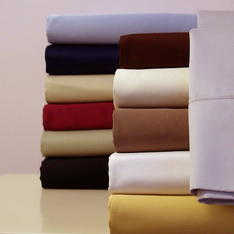 Split Adjustable Dual King Sheets - Solid 300 Thread count-Royal Tradition-Egyptian Linens