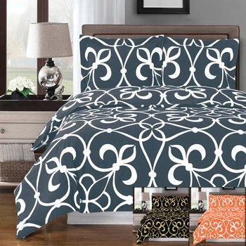 Duvet Cover Set - Victoria-Royal Tradition-Egyptian Linens