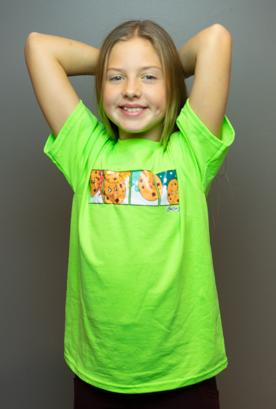 Lime Green Milk & Cookies T-shirt
