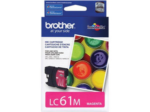 BROTHER LC61M - CARTOUCHE D'ENCRE MAGENTA INNOBELLA, À RENDEMENT STANDARD