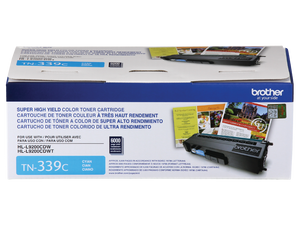 BROTHER TN339C - CARTOUCHE DE TONER CYAN À HAUT RENDEMENT