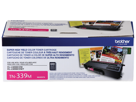 BROTHER TN339M - CARTOUCHE DE TONER MAGENTA À HAUT RENDEMENT
