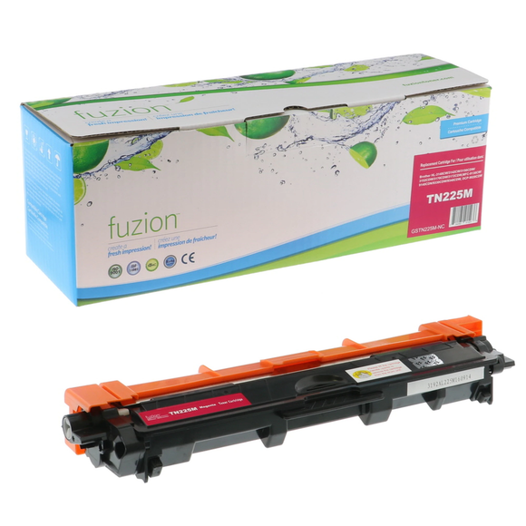 FUZION TN225MCO - CARTOUCHE DE TONER MAGENTA À HAUT RENDEMENT (compatible Brother TN225M)