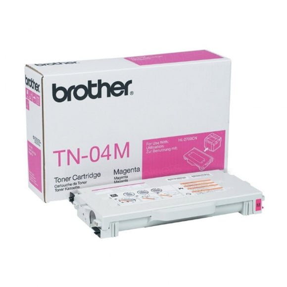 BROTHER TN04M - CARTOUCHE DE TONER MAGENTA À RENDEMENT STANDARD