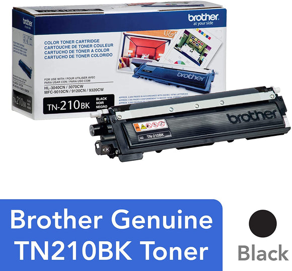 BROTHER TN210BK - CARTOUCHE DE TONER NOIR À RENDEMENT STANDARD