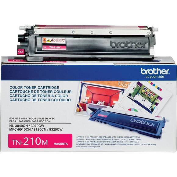 BROTHER TN210M - CARTOUCHE DE TONER MAGENTA À RENDEMENT STANDARD