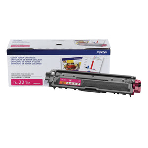 BROTHER  TN221M - CARTOUCHE DE TONER MAGENTA À HAUT RENDEMENT