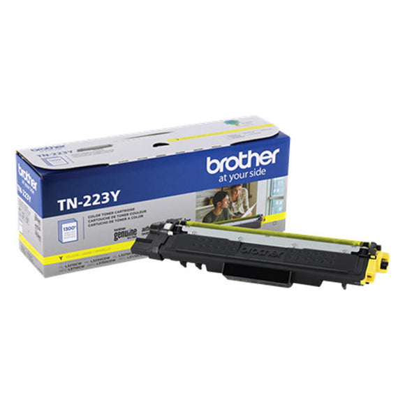 BROTHER TN223Y - CARTOUCHE DE TONER JAUNE À RENDEMENT STANDARD