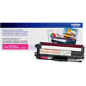 BROTHER TN310M - CARTOUCHE DE TONER MAGENTA À RENDEMENT STANDARD