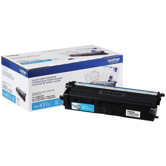 BROTHER TN431C - CARTOUCHE DE TONER CYAN À RENDEMENT STANDARD