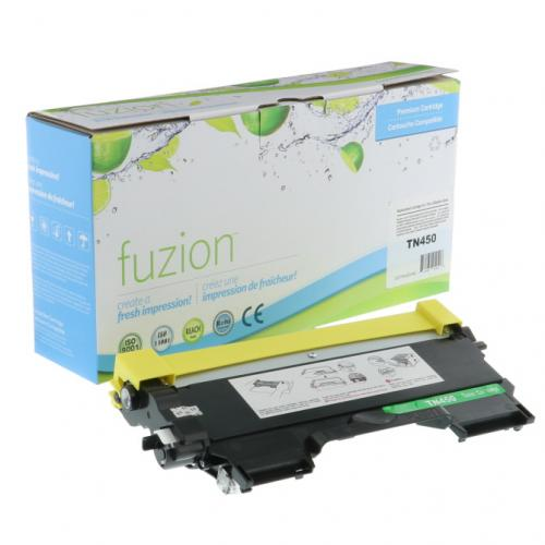 FUZION TN450CO - CARTOUCHE DE TONER NOIR À HAUT RENDEMENT (compatible Brother TN450)