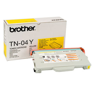 BROTHER TN04Y - CARTOUCHE DE TONER JAUNE À RENDEMENT STANDARD