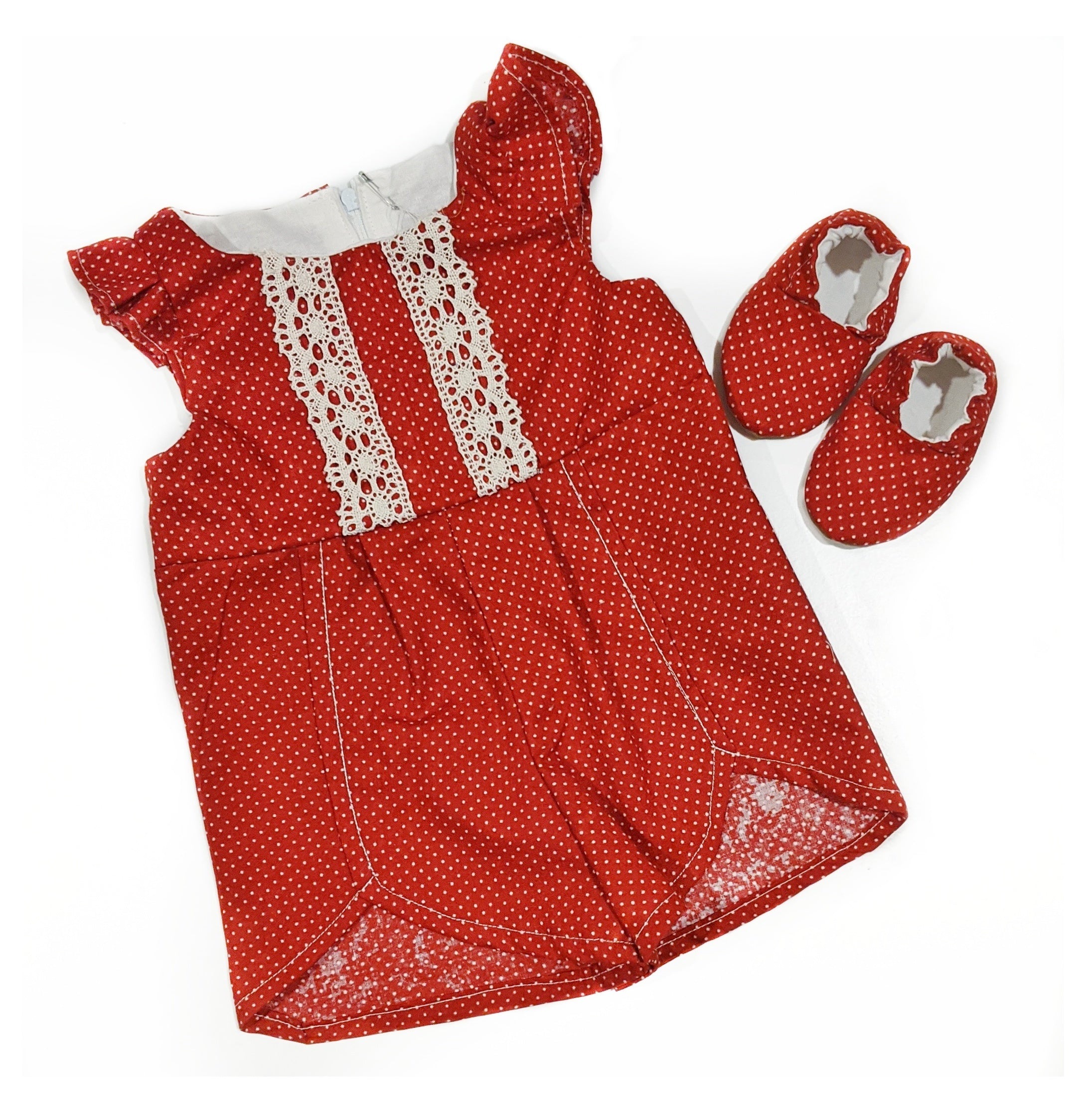 0-3 Month Rowan Romper Set