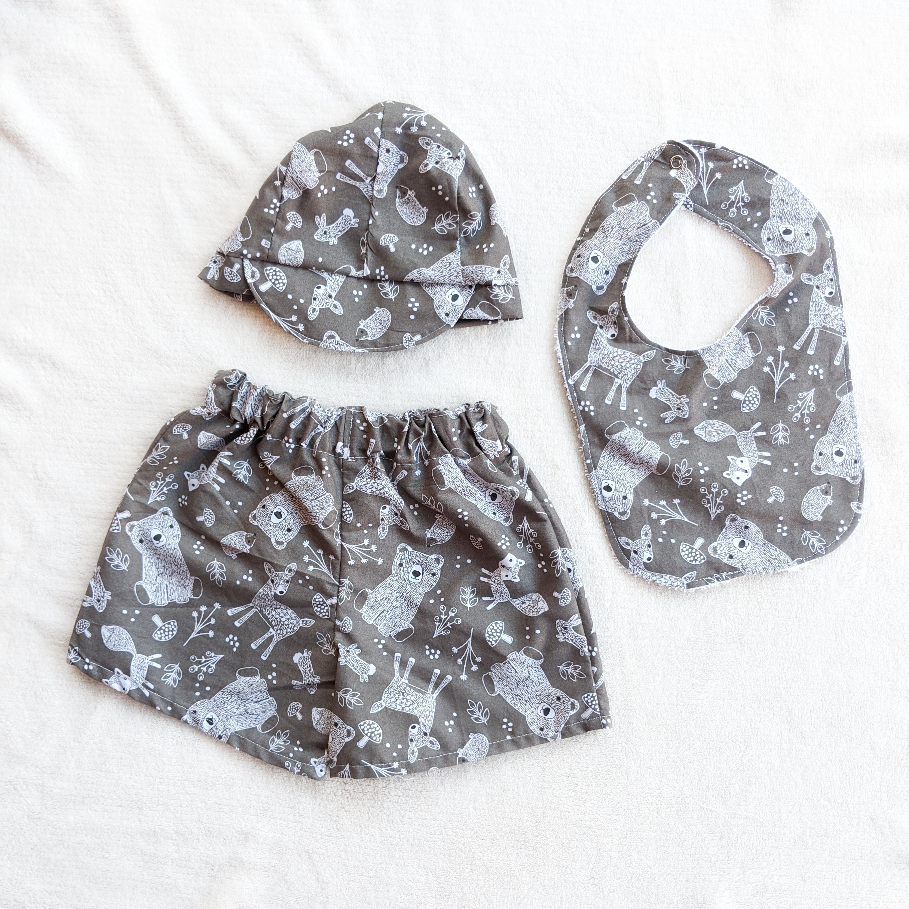 Limited SIZE 1 Woodland Set