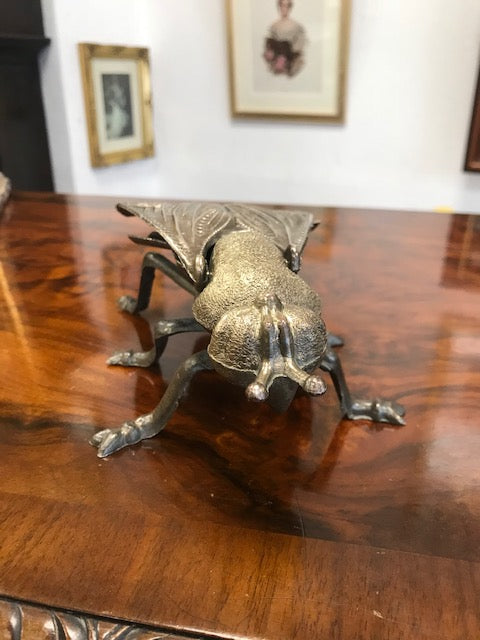 Brass Fly Ashtray - Room for Antiques