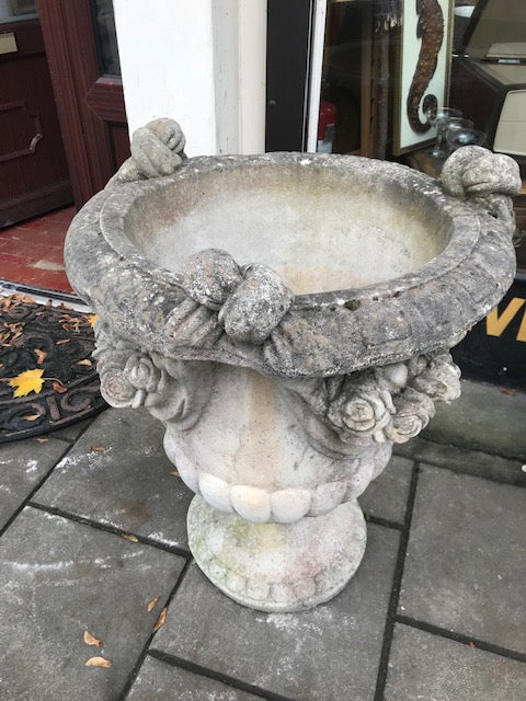 Pair of Garden Urns - Room for Antiques