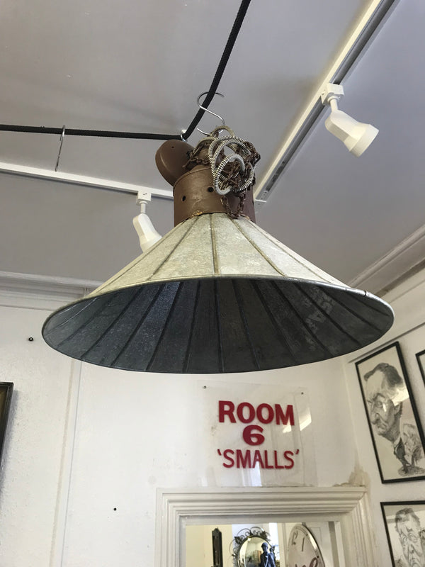 Metal Light Fitting - Room for Antiques